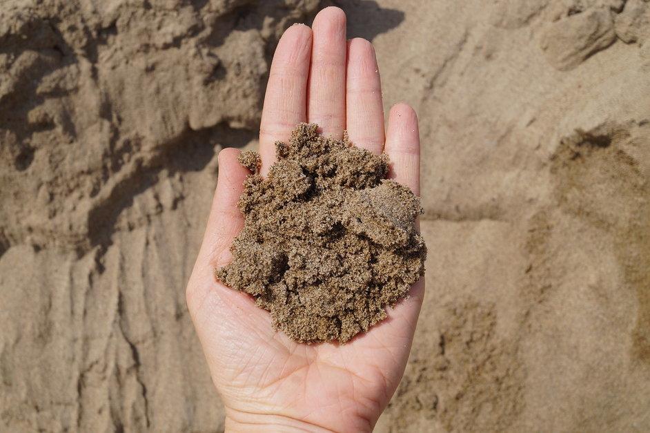 как выглядит речной песок