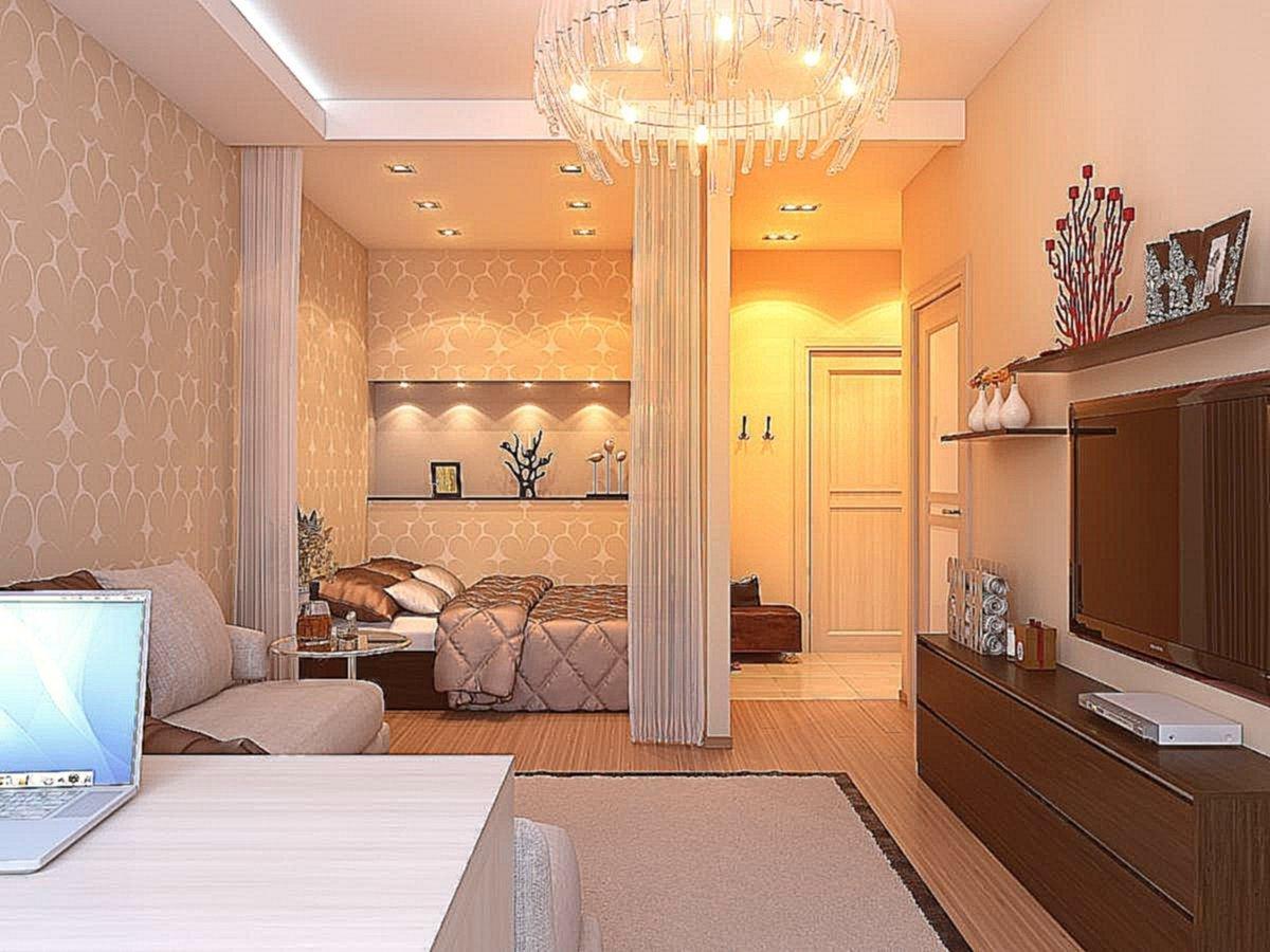 Ремонт комнаты с нишей фото